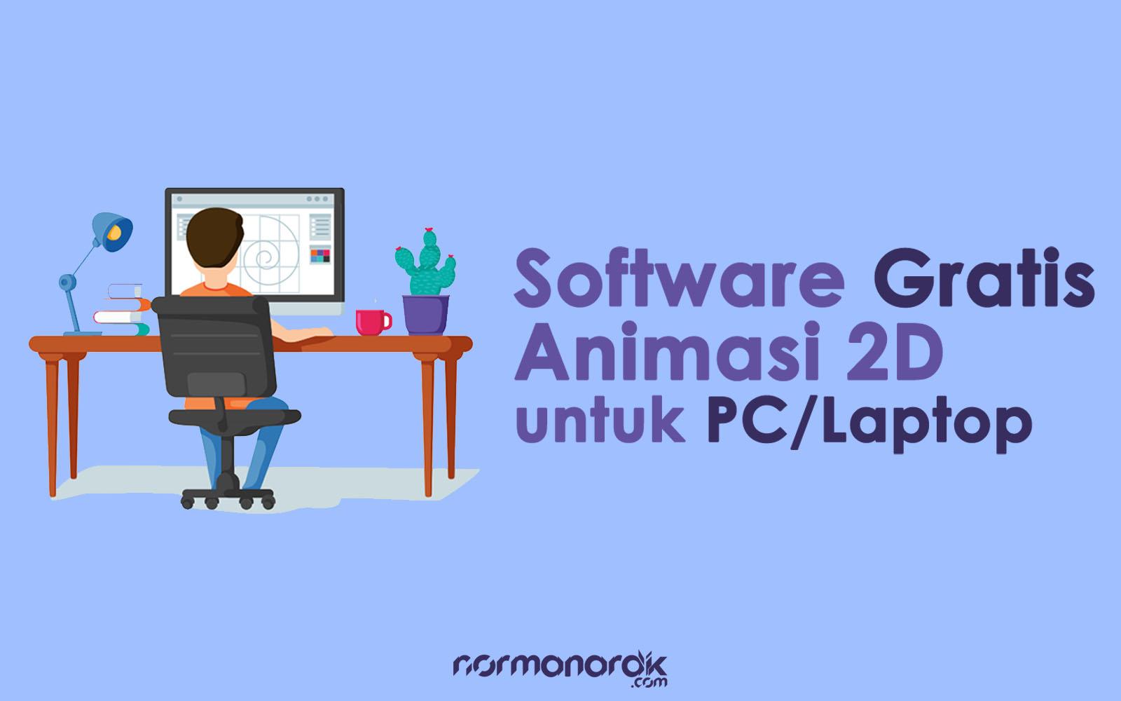 software animasi 2d gratis