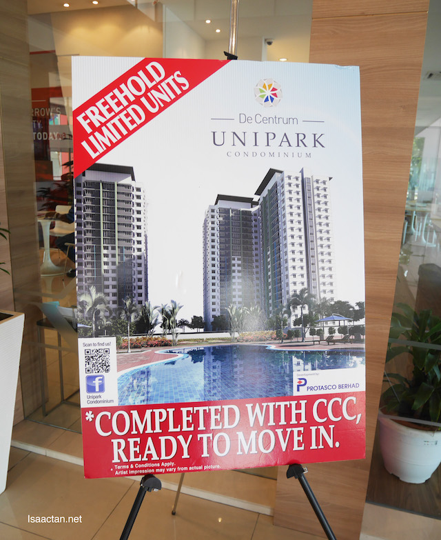 De Centrum Unipark Condominiums
