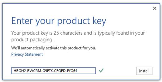 microsoft office plus 2013 product key