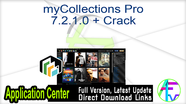 myCollections Pro 7.2.1.0 + Crack