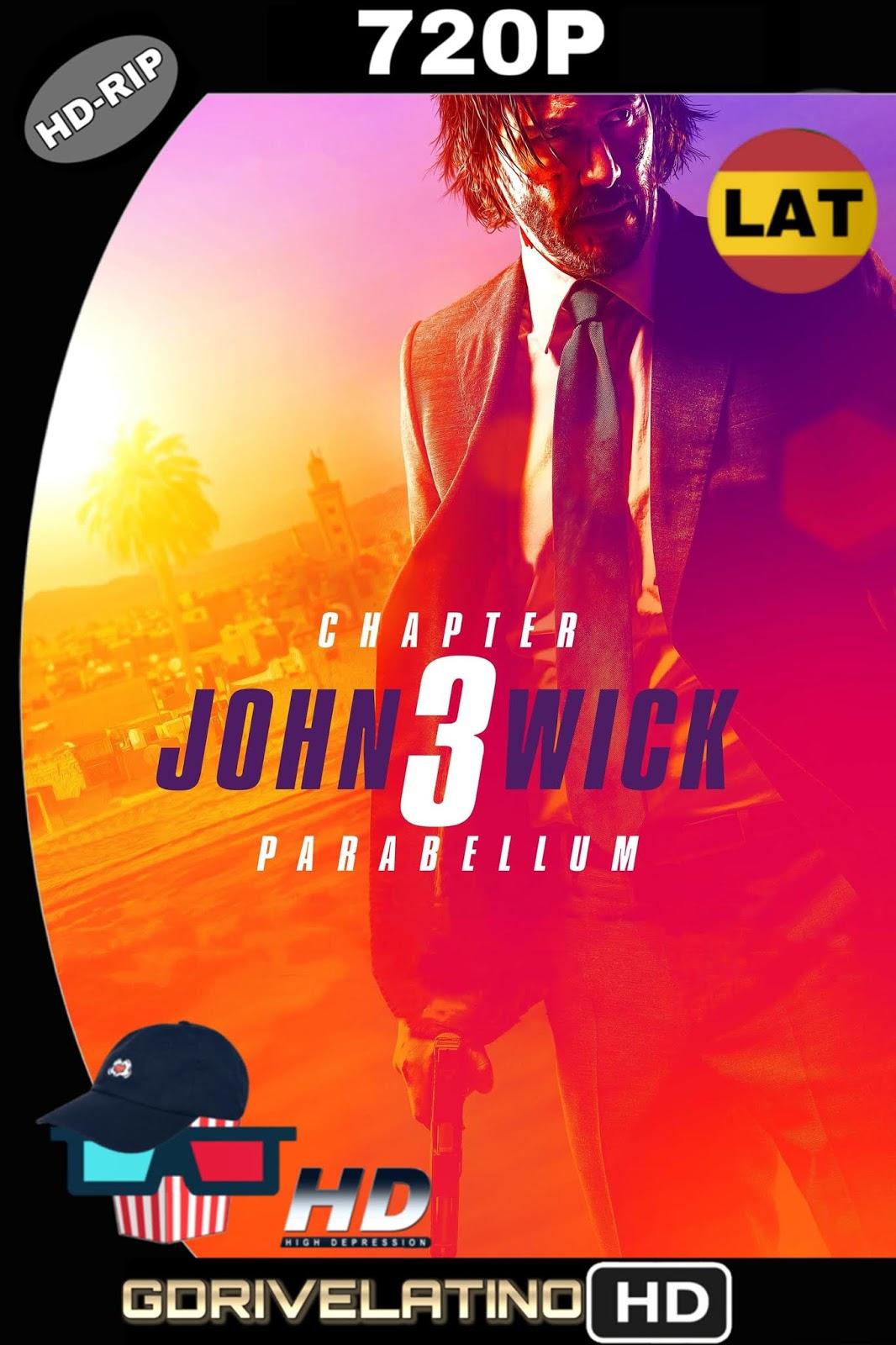 John Wick 3: Parabellum (2019) HDRip 720p (Latino-Inglés) MKV
