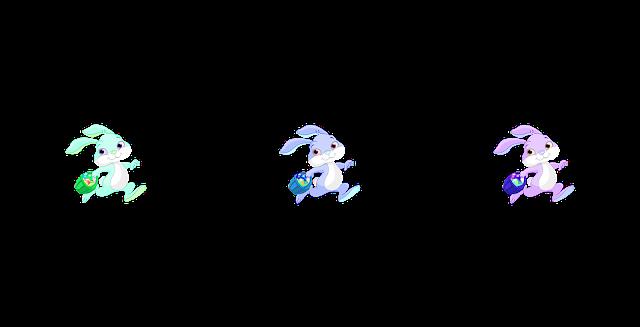 gambar kartun kelinci png