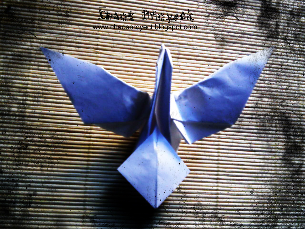 origami dove diagram whirlpool dryer wiring for plug chaos proyect paloma de b of peace