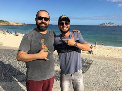 Edu Primitivo e Rafael Paiva  Crédito: Divulgação/SBT