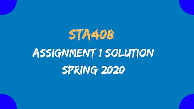 STA408