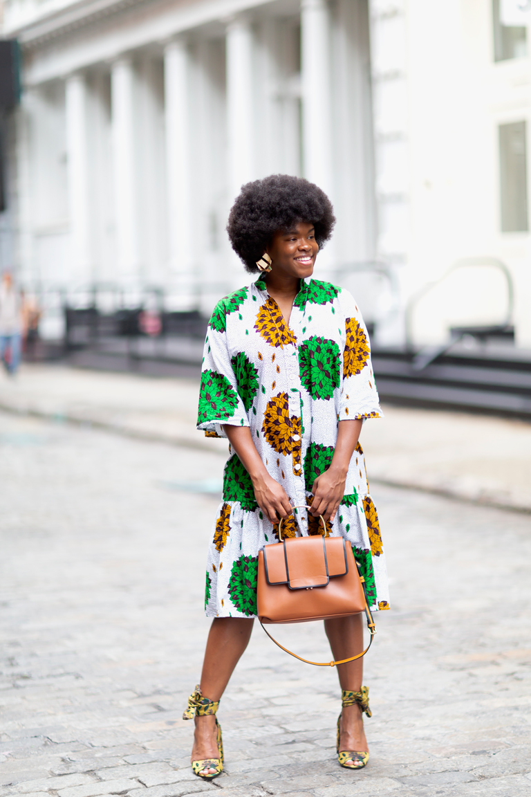 Fashion Blogger during New York Fashion Week Spring 2019