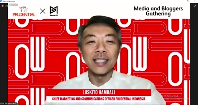 Luskito Hambali, Chief Marketing & Communications Officer Prudential Indonesia.
