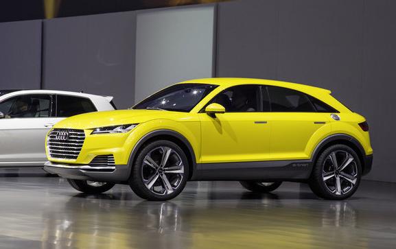 2018 Audi TTQ Offroad Changes