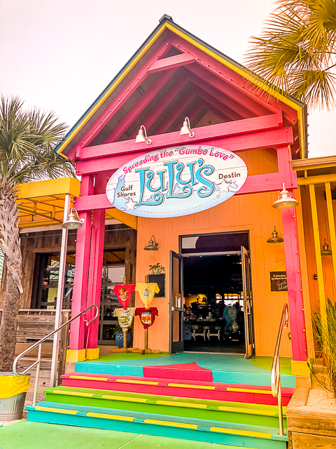 outside of Lucy Buffett's LuLu's - Destin, FL