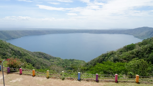 Volcano Lake Catarina