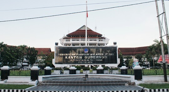 Kantor Gubernur Propinsi Sulawesi Utara (Sulut)