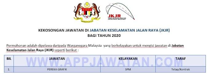 Jawatan Kosong Terkini Jabatan Keselamatan Jalan Raya (JKJR).