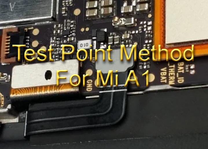 ifelixit: Test Point Method to flash Bricked Mi A1