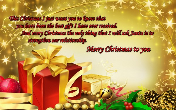 Kersfees wishes to all of you