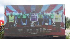 Jokowi Resmikan Jalan Tol Manado Bitung Secara Virtual