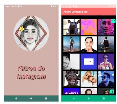 App filtros do Instagram Stories