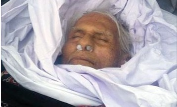 last picture of alibaba sindhi writer