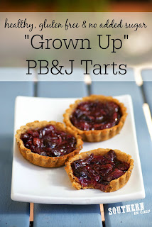 Gluten Free Peanut Butter and Jelly Tarts Recipe