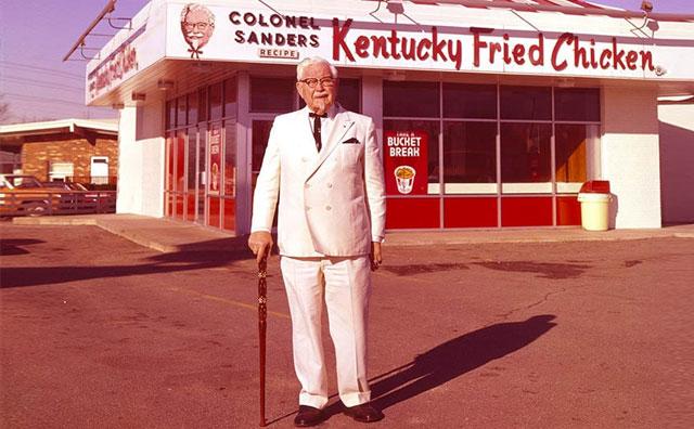 Harland Sanders alias Kolonel Sanders KFC