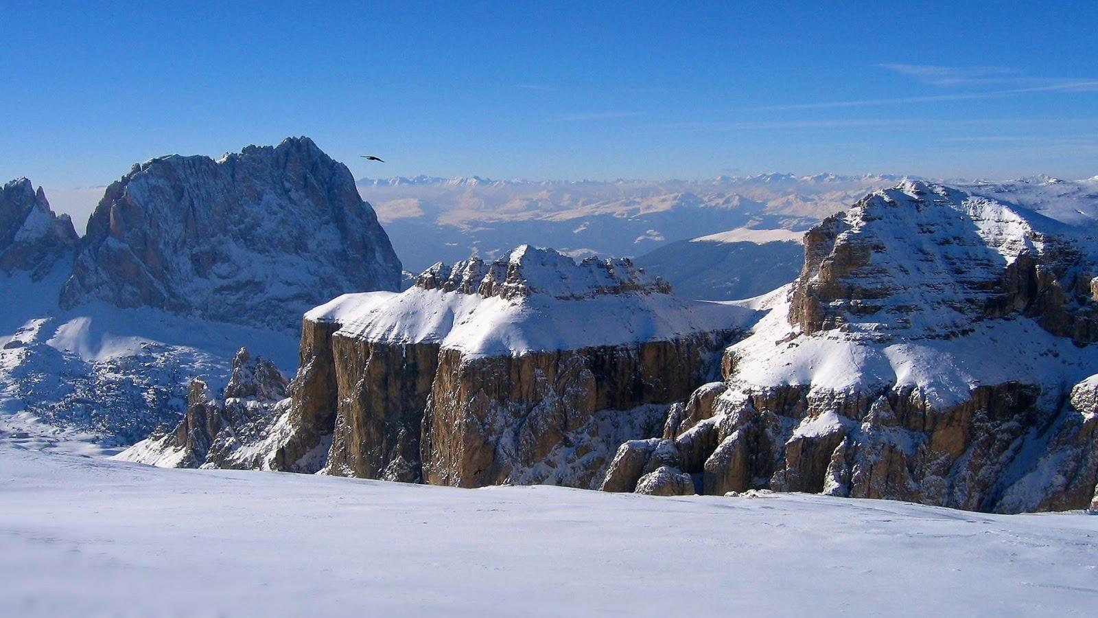 Fondo De Pantalla Paisaje Montañas Nevada: Fondo De Pantalla Paisajes Montañas Llenas De Nieve
