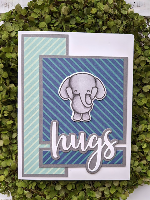 Card for One Sheet Wonder Template #7 by Jess Crafts