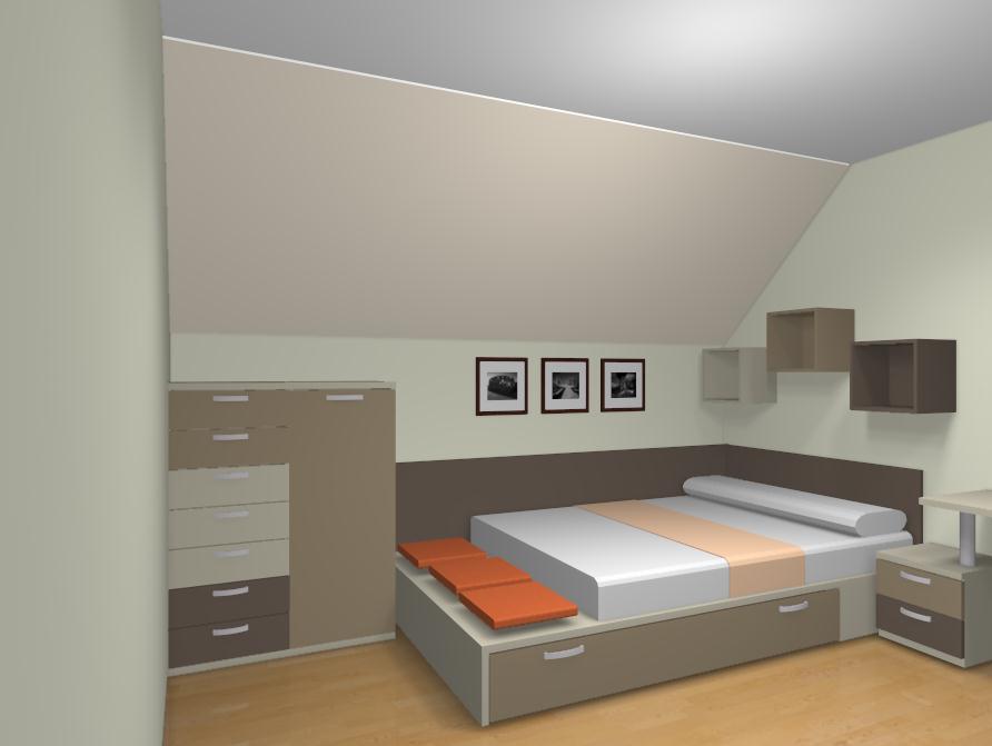 Como amueblar un dormitorio juvenil - Habitaciones de dos camas ...