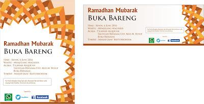 Brosur dan Spanduk Ramadhan 1439 H