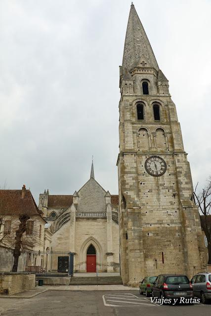 Abadía de Saint Germain, Auxerre, Francia