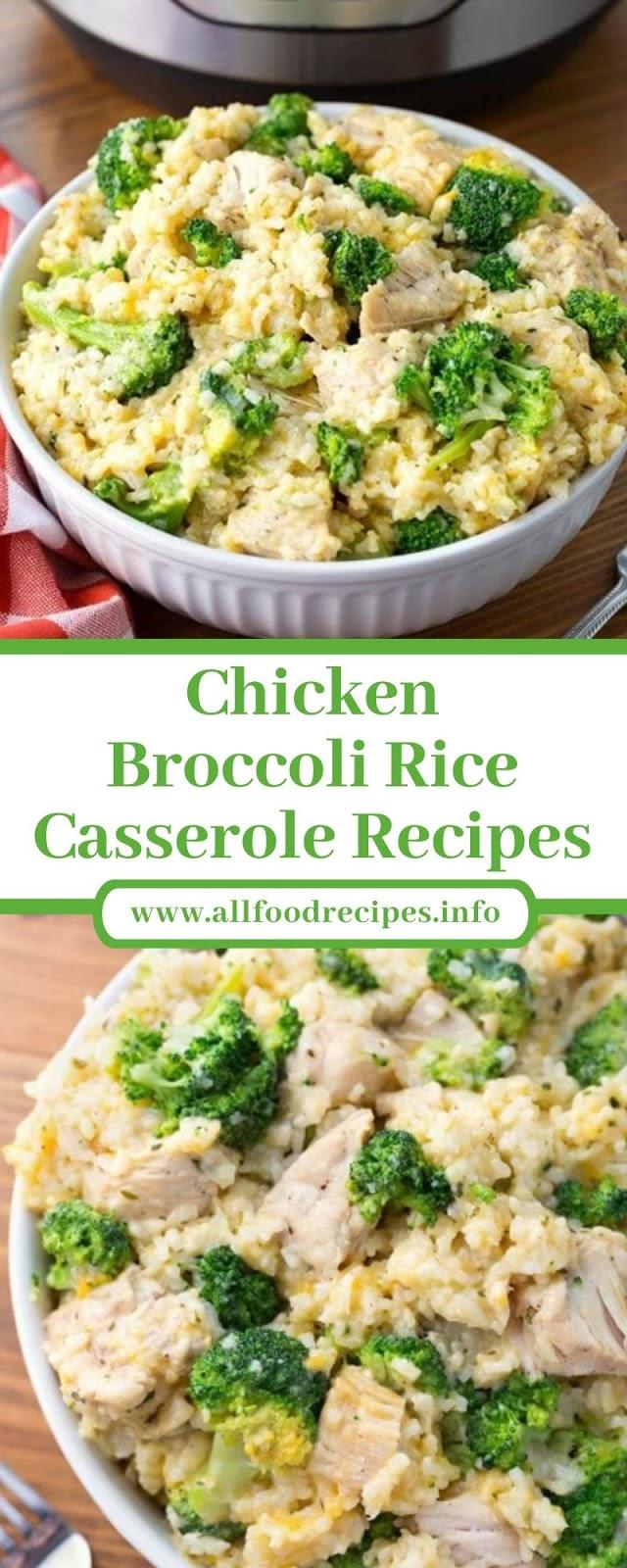 Chicken Broccoli Rice Casserole Recipes