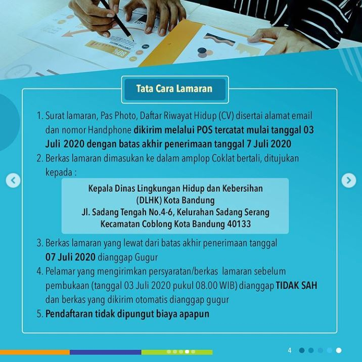 Lowongan Kerja Dinas Lingkungan Hidup dan Kebersihan Kota Bandung