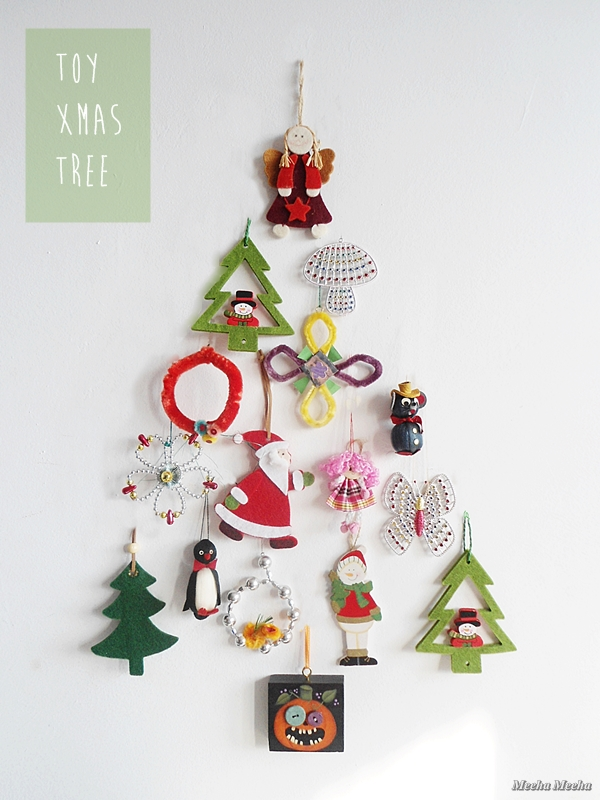 Quick DIY: Toy Christmas Tree