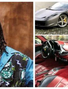 Burna Boy buys himself a brand new Ferrari worth over $300, 000