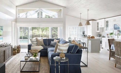 Nautical Living Dining Room