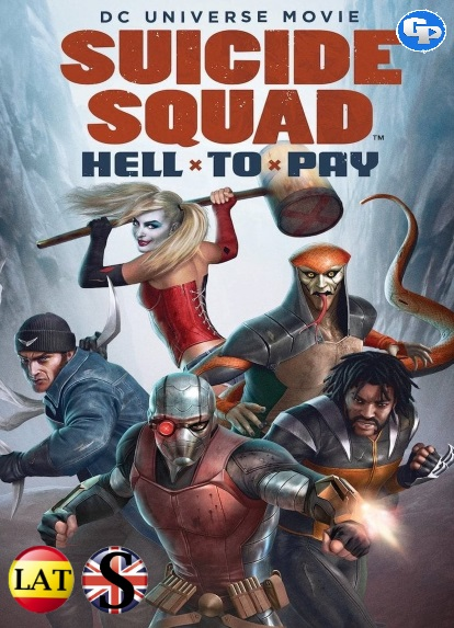 Suicide Squad: Hell to Pay (2018) DVD5 LATINO/INGLES