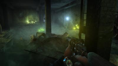 Screenshot del videojuego Metro 2033