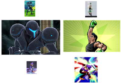 Super Smash Bros. Brawl For Wii U Ultimate Assist Trophy Little Mac Dark Samus Waluigi