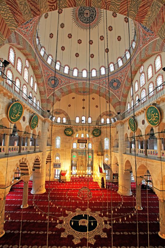 Exercise Option - Kılıcali Pasa Mosque, Tophane, Istanbul, Turkey