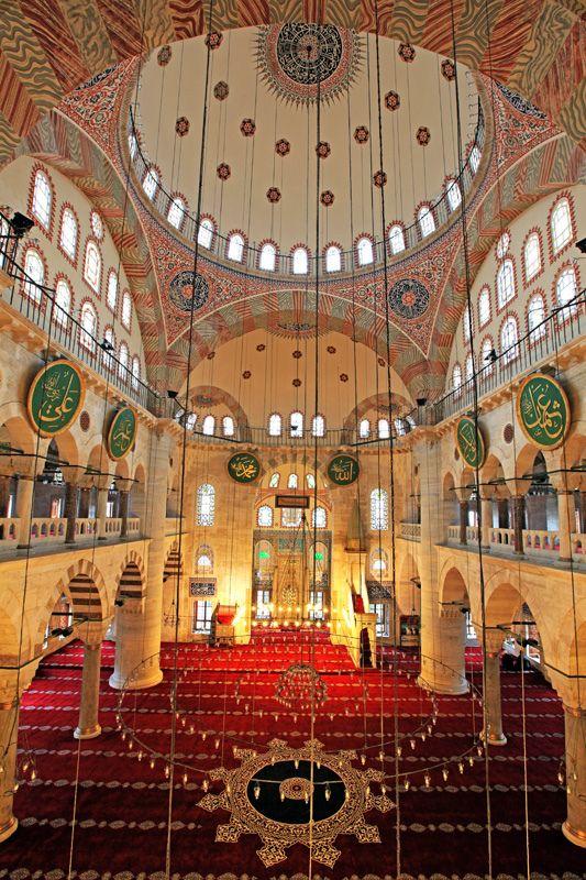 Exercise Option - Kılıcali Pasa Mosque, Tophane, Istanbul, Turkey