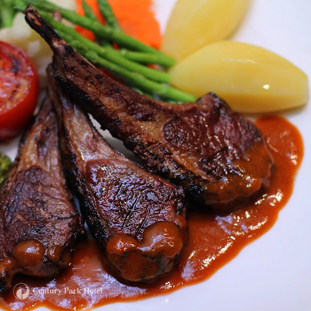 Century Park Hotel - Grilled Lamb Chops