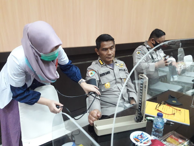 25 Menit Bersama Kabid Dokkes Polda Sumsel Kombes Pol dr Syamsul Bahar