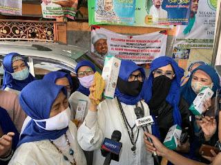 Cerita Tamu Resepsi Putri HRS: Protokol Kesehatan Diterapkan Ketat