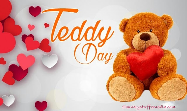 Happy Teddy bear day images for girlfriend