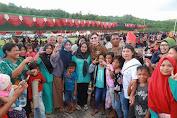 Pesta Adat Tulude Di Minut Bupati Tetty Paruntu Jadi Bintang
