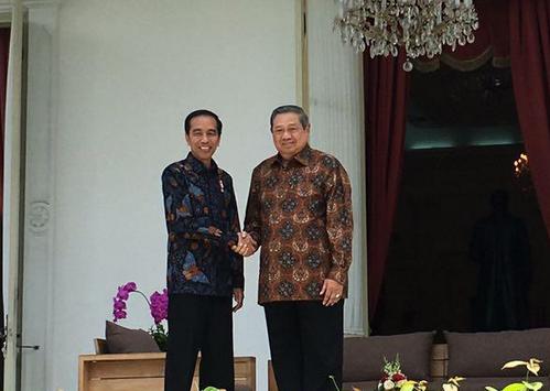 SBY Bertemu Presiden Jokowi