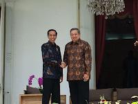 Ahirnya Keinginan SBY Bertemu Presiden Jokowi Terwujud