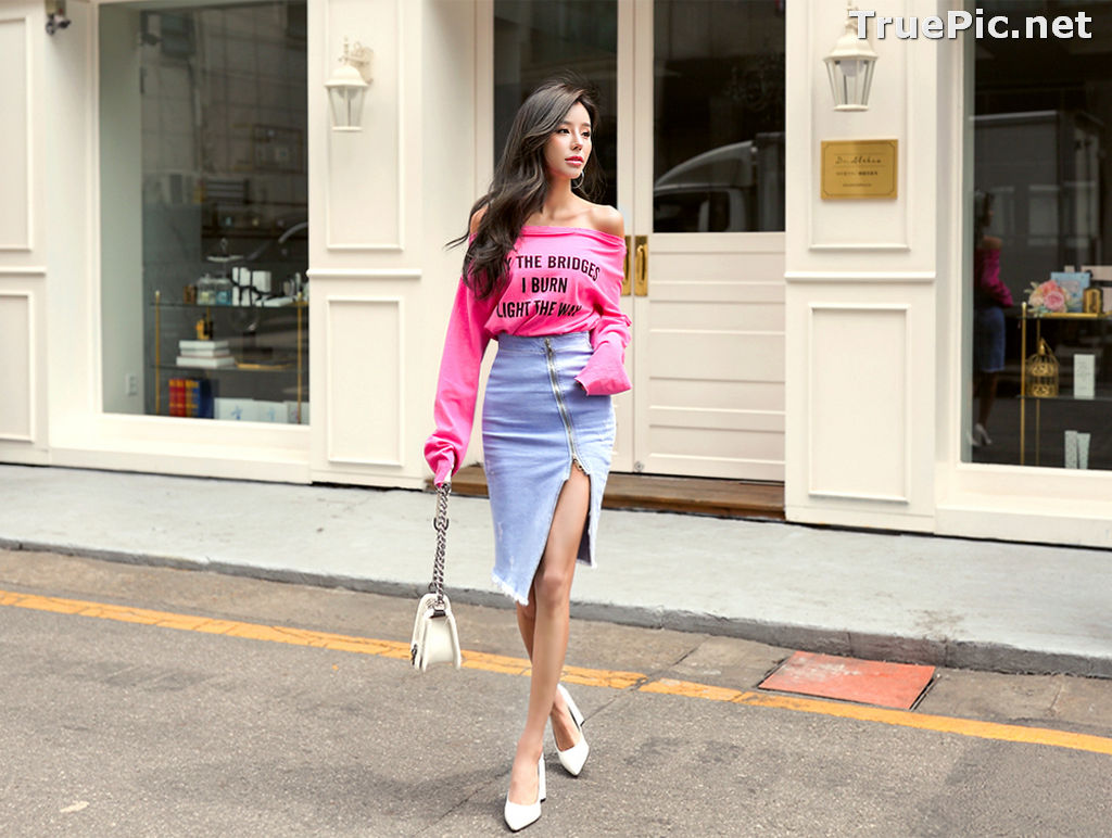 Image Son Ju Hee Beautiful Photos – Korean Fashion Collection #2 - TruePic.net - Picture-5