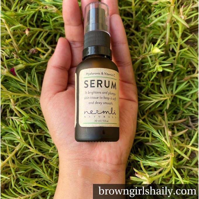 Neemli Naturals Hyaluronic & Vitamin C Serum Review