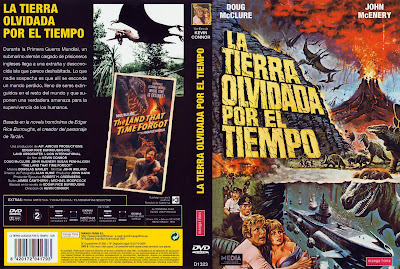 Carátula dvd: La tierra olvidada por el tiempo (1975) The Land That Time Forgot
