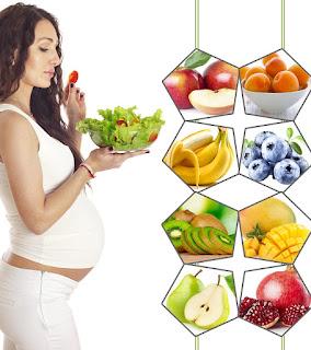 Makanan yang sehat untuk ibu hamil dan menyusui