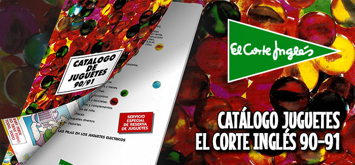 Catálogo de juguetes El Corte Inglés (1990-91)